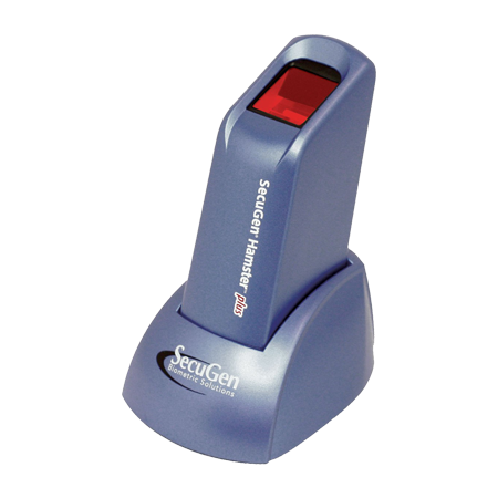 secugen hamster plus usb optical fingerprint scanner