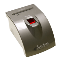 SecuGen iD-SERIAL Fingerprint Scanner with Card Reader