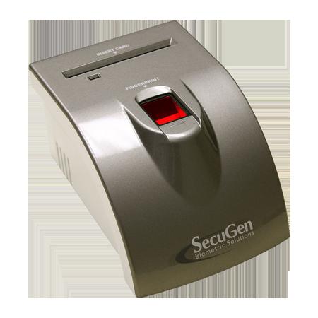 SecuGen iD-SERIAL Fingerprint Scanner with Card Reader