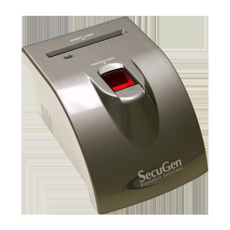 iD-USB SC/PIV Fingerprint Scanner with Card Reader