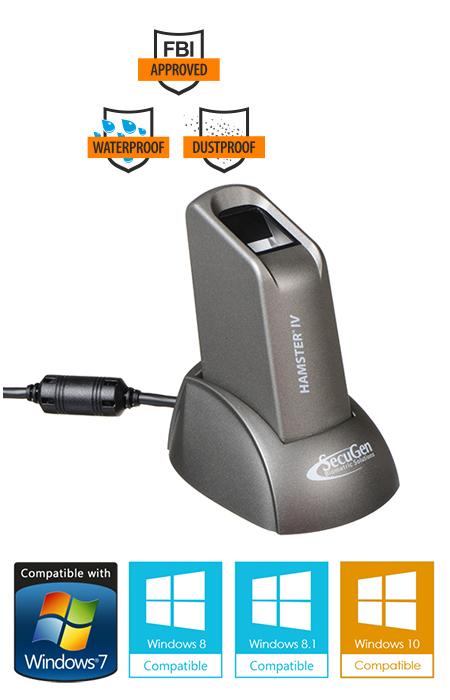 hamster iv portable fingerprint reader