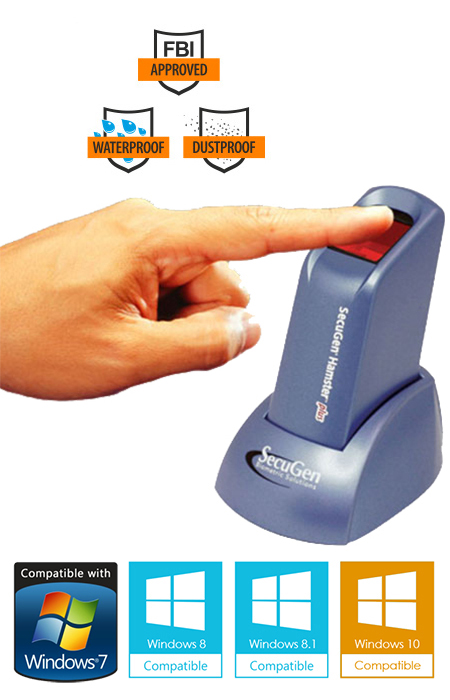 hamster plus usb fingerprint reader