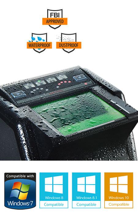 suprema realscan g10 ten print live scanner