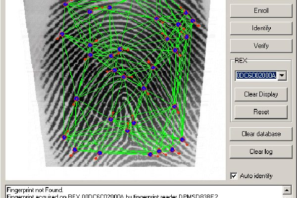 Fingerprint Template Conversion in Griaule SDK