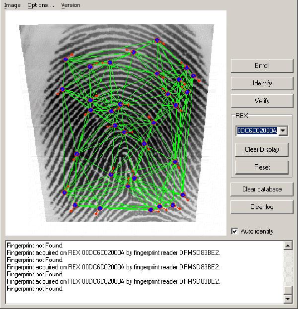 Fingerprint Template Conversion in Griaule SDK