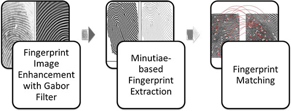 Steps Involved in Fingerprint Recognition