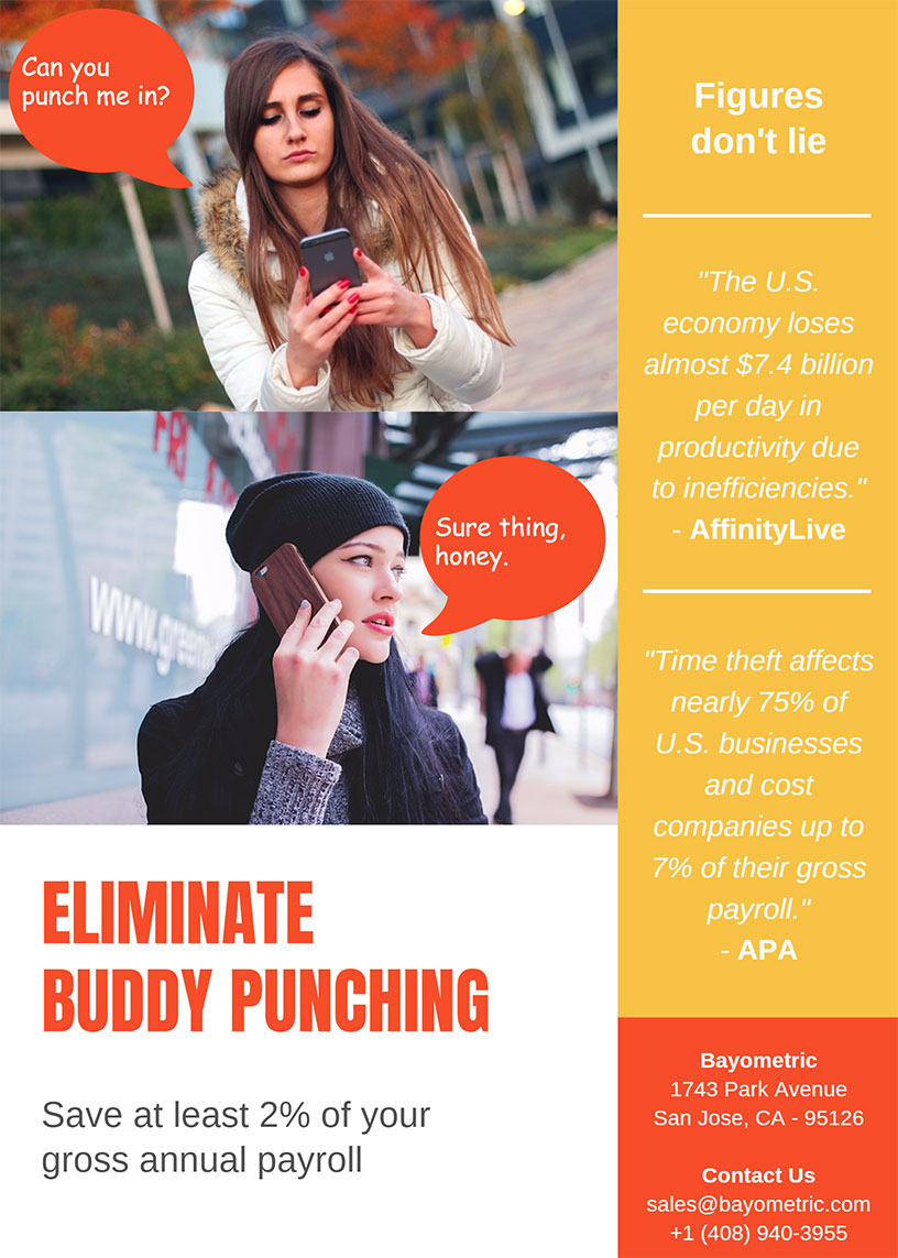 Buddy Punching Infographic