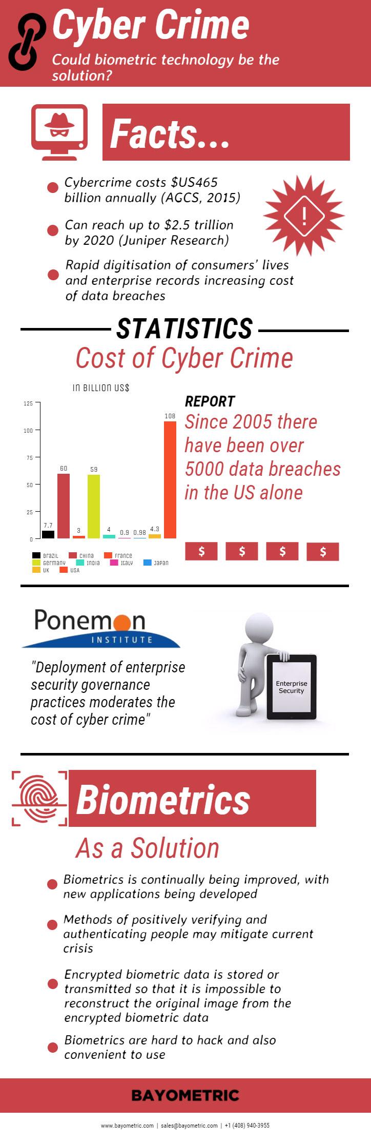 Biometrics to Stop Cybercrime