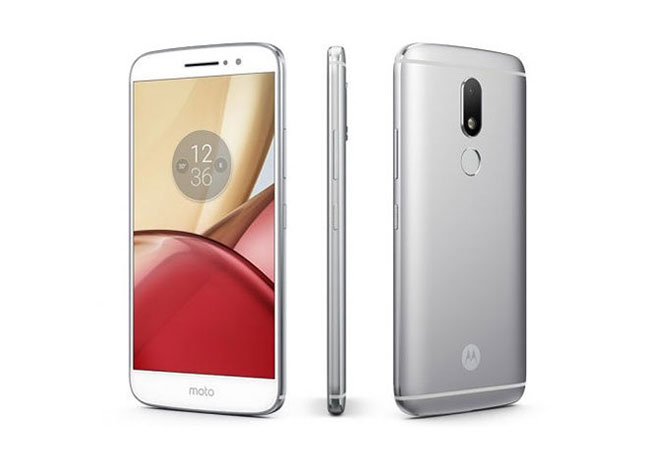 Moto M with Fingerprint Scanner on the Back