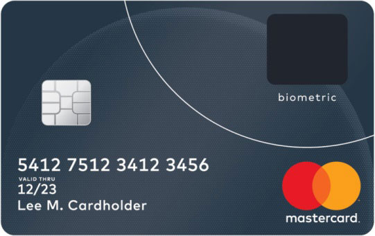 Biometric Bank Card