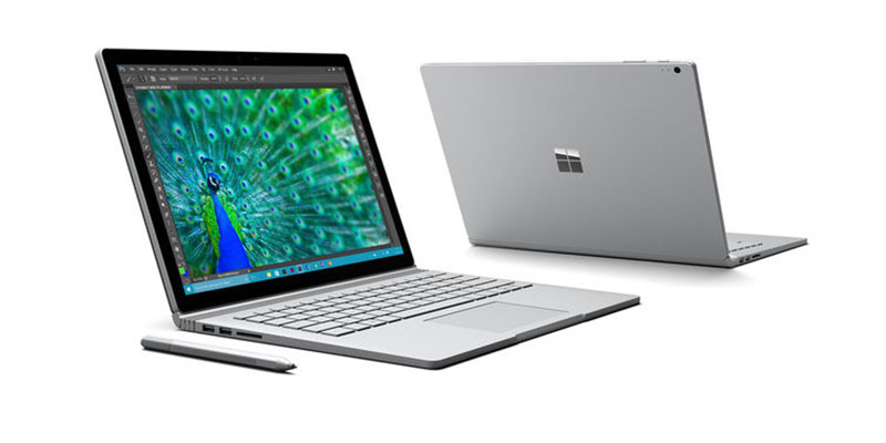 Microsoft Surface Book with camera