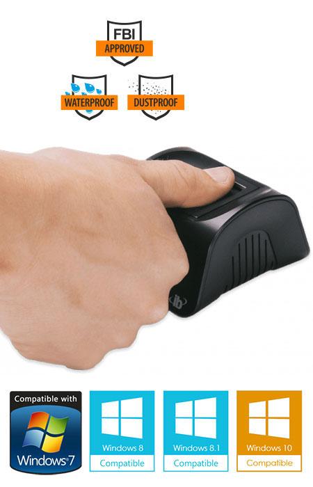 columbo desktop fingerprint scanner
