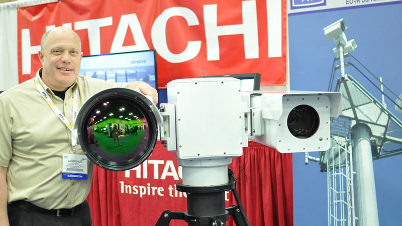 surveillance device at annual border security expo