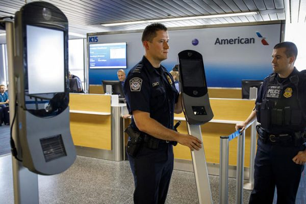 facial recognition system at o'hare