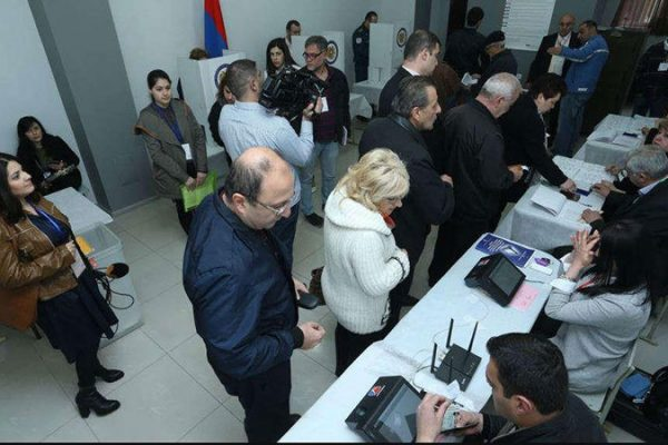 biometric voter identification in armenia