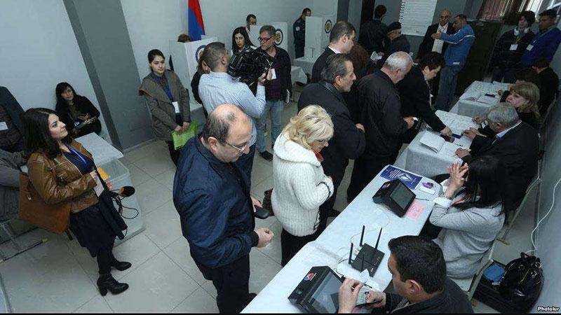 biometric voter identification in armenia