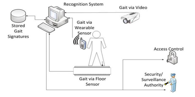typical gait recognition system