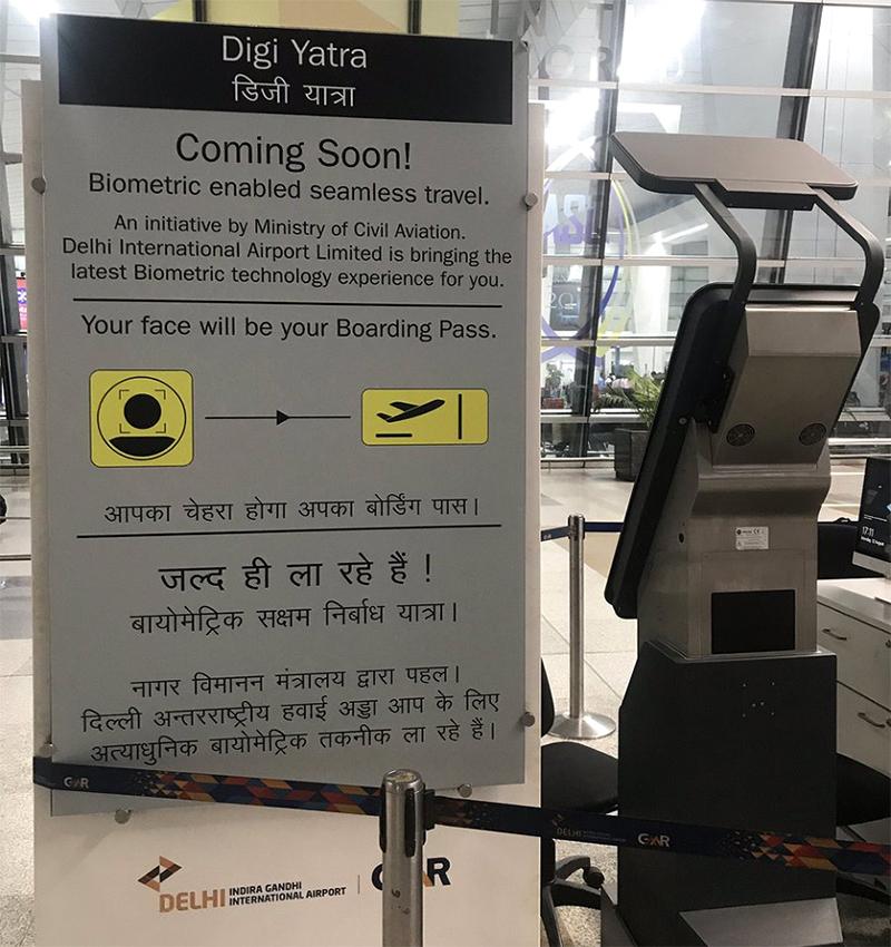 facial recognition flight boarding