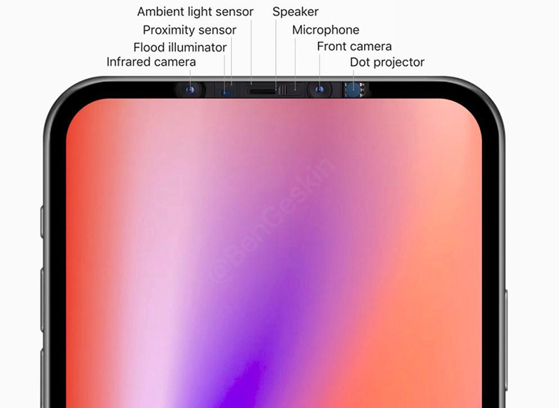 iphone 12 may arrive with a notch-less display