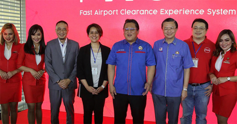 launch day of fast airport clearance