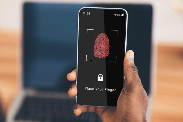 phones with fingerprint sensor in 2020