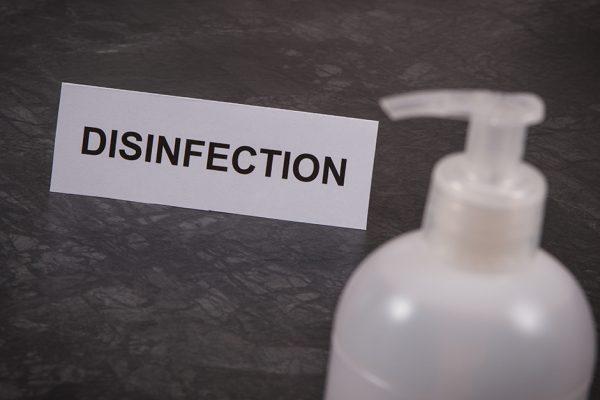 fingerprint scanner disinfection