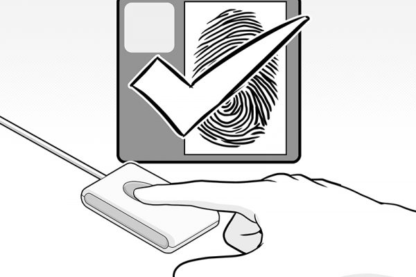how to use fingerprint scanner