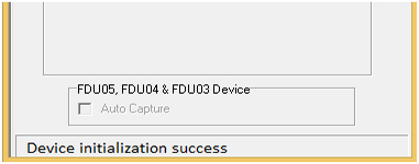 rd service device initialization