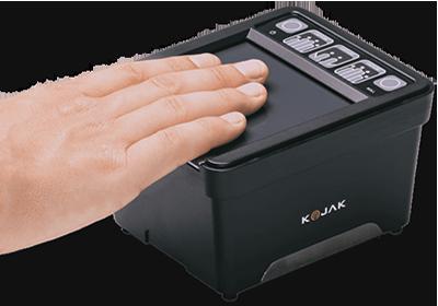 live scan fingerprint image capture