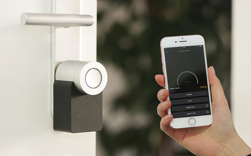 facial recognition in home security