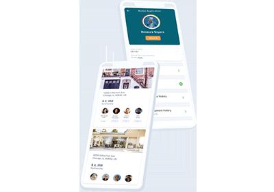 online tenant application